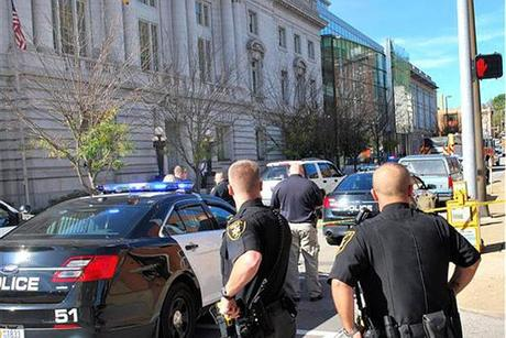 Lawful Gun Owner - Ex-Cop - Shoots up the Wheeling West Virginia Court House and Get Killed