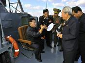 Jong Inspects Warships Commands Exercises