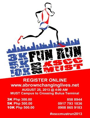 Join me at the Xavier Sports and Country Club MUST Fun Run!