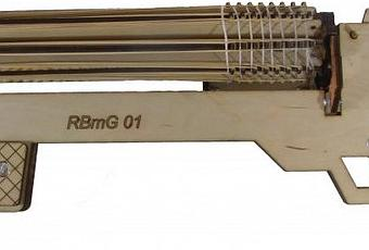 This Rubber Band Gun Fires 800 Rounds Per Minute Paperblog