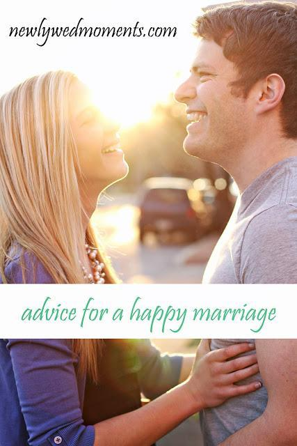 advice for a happy marriage
