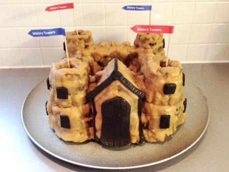 malory towers castle cake for enid blyton derby clandestine cake club october 2013 recipe and how to using silicon shaped mould