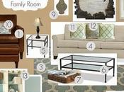 E-Design: NDJ's Family Room Design