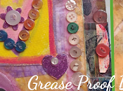 Grease Proof Paper Button Journal