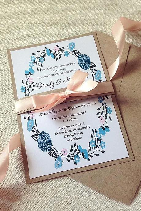 fall wedding postcards and invitations 14