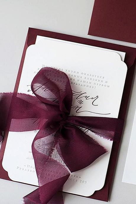 autumn wedding invitations 2