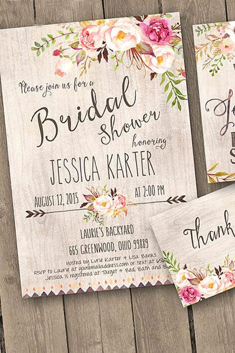 fall wedding postcards and invitations 5