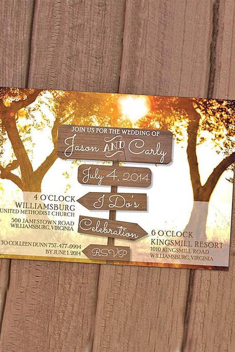 fall wedding invitations 2