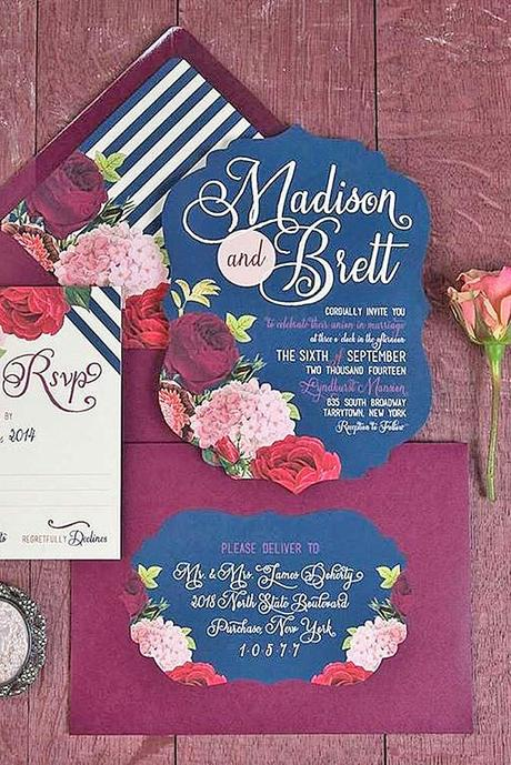fall wedding postcards and invitations 7