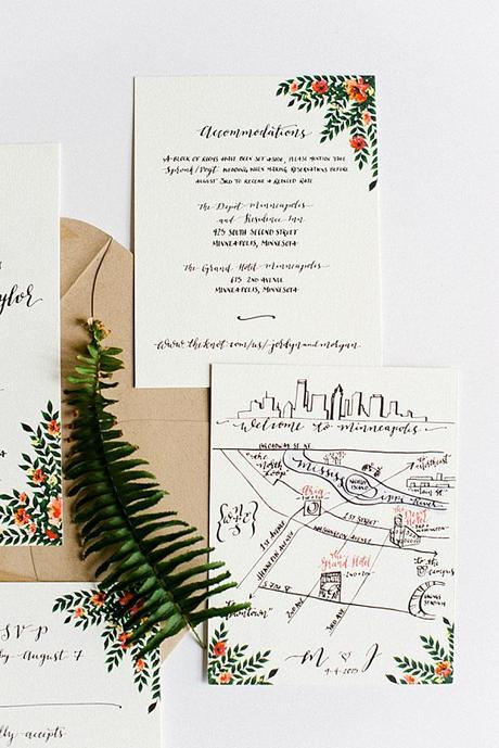 autumn wedding invitations 5