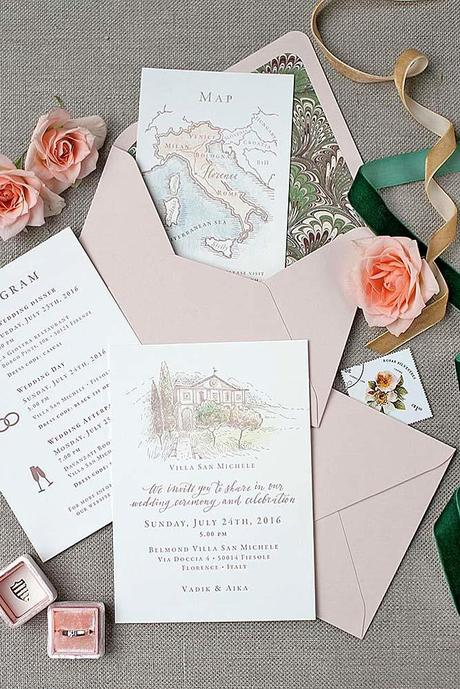 fall wedding postcards and invitations 10