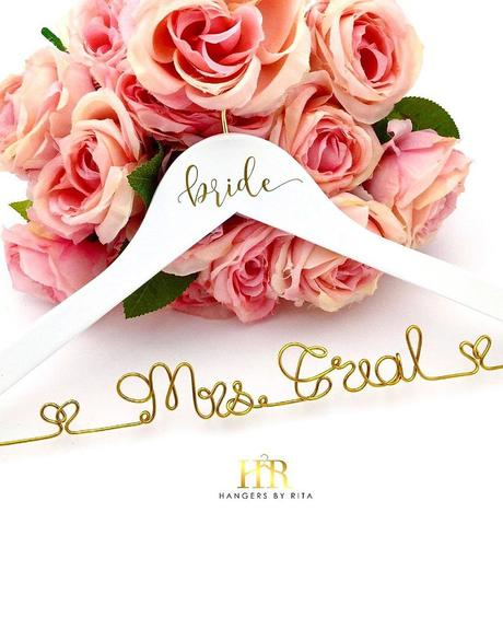 miss to mrs merch mrs engraved personalized hanger