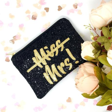 miss to mrs merch cosmetic bag