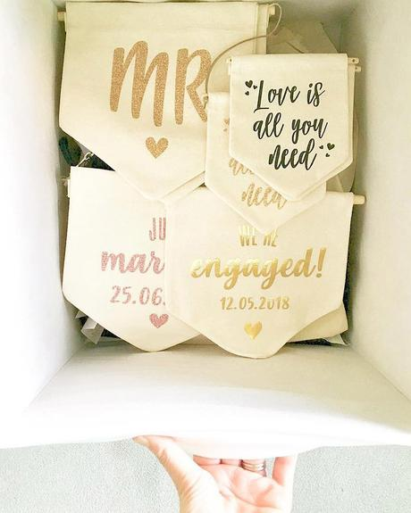 miss to mrs merch mrs engagement party banners