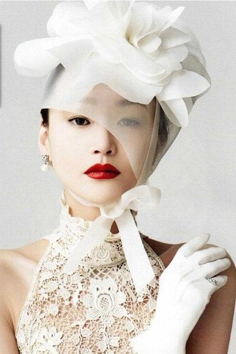 beauty wedding hats