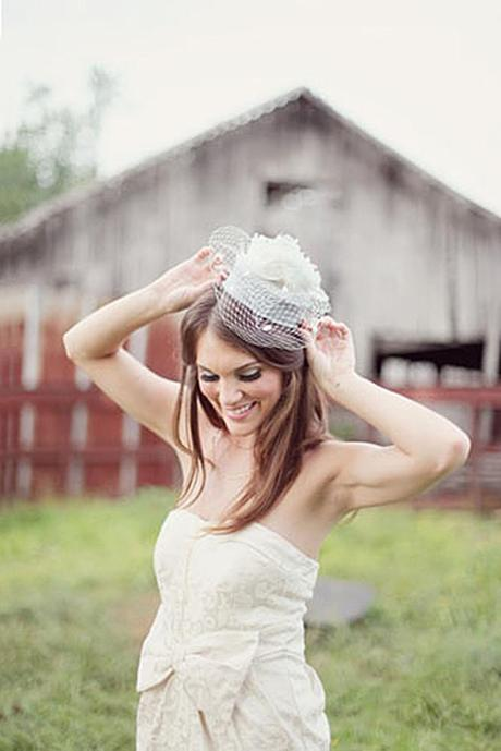 wedding hats for bride vintage cream shade bridal hat with veil and big flower simply bloom photography
