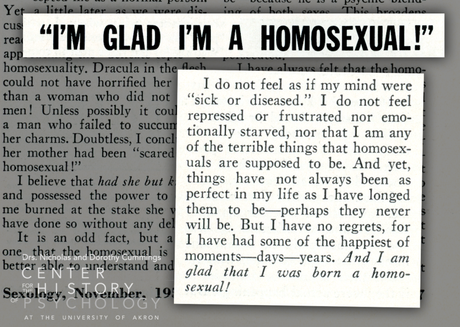 """""""Experiences with the 'Straight' World"""": The Queer Narratives of Sexology Magazine"""