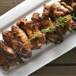 Grilled Caribbean Jerk Chicken Wings