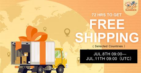 Newchic Summer Sale 2021 Free Shipping
