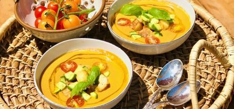 Chilled Moroccan Watermelon Tomato Soup2 min read