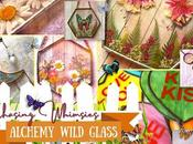 Chasing Whimsies: Alchemy Wild Glass Stained