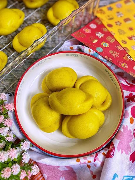 元寶饅頭 Gold Ingot Mantou