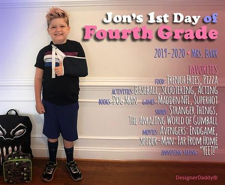 First Day of School: Sixth Grade!