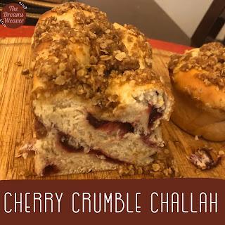 Cherry Crumble Challah ~ The Dreams Weaver