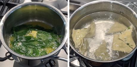 Herb and Ricotta Ravioli with Sage Butter Sauce