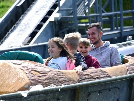 This Bank holiday weekend go to  Cornwall's family friendly Camel Creek Family Theme Park