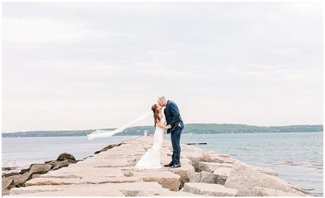 oceanfront wedding venue in maine