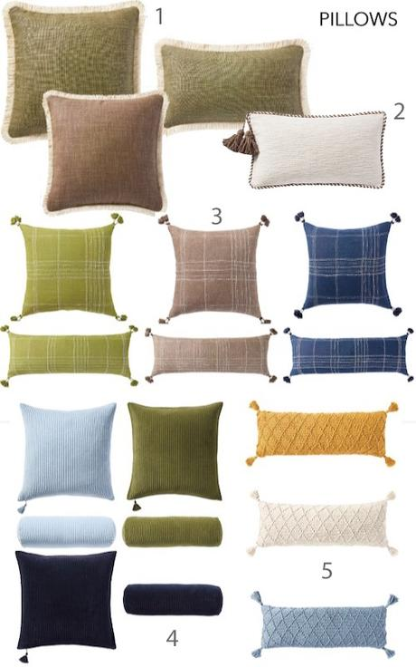 Just In: Serena & Lily Fall 2021 Pillows, Wallpaper, Rugs, and Upholstered Furniture (with Fringe!)