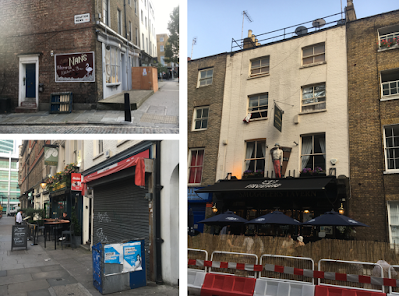 The changing face of Warren Street – long-lost pubs and international cuisine