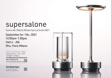 Looking forward to Supersalone
