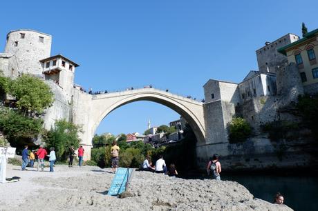Meandering in Mostar