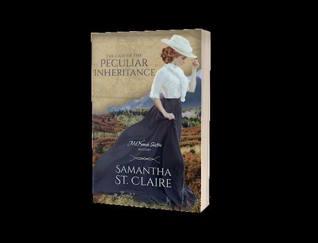 BOOK BLAST -  THE CASE OF THE PECULIAR INHERITANCE, A MCKENZIE SISTERS MYSTERY NOVEL