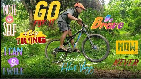 How to bunny hop by Kalongkong Hiker Vlogs?