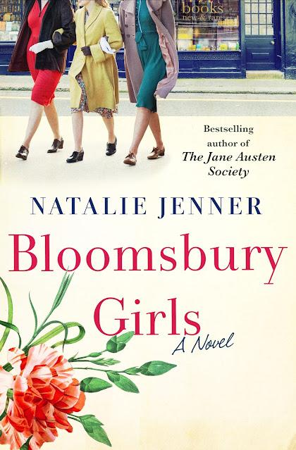 BLOOMSBURY GIRLS BY NATALIE JENNER: COVER REVEAL!