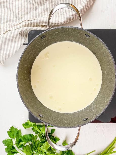 Homemade Alfredo Sauce Without Heavy Cream