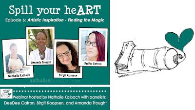Spill Your Art Shorts - Finding Inspiration - Episode 6