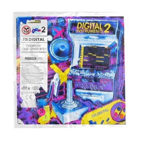 "ProducerGrind TB Digital ""Digital Instruments"" One Shot Kit Vol.2 WAV"