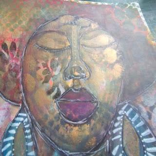 You Art Amazing - Art Journal Page