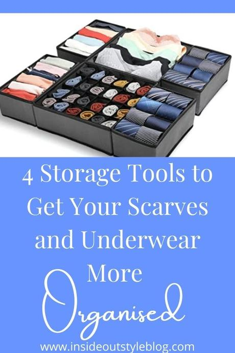 4 Organising Tools to Get Your Scarves and Underwear More Organised