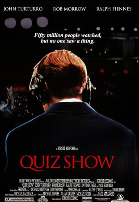 ABC Film Challenge – 1990s Movie – Q – Quiz Show (1994) Movie Suggestion