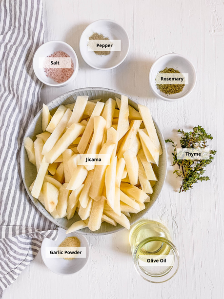 Air Fryer Jicama Fries Recipe