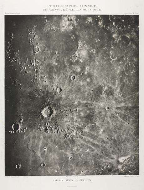Early photography: Photographie Lunaire: Copernic-Képler-Aristarique – Maurice Loewy & Pierre Henri Puiseaux