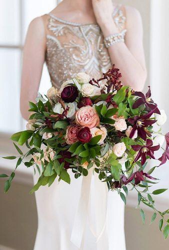 wedding bouquets 2019 burdundy wedding bouquet achelaclingen