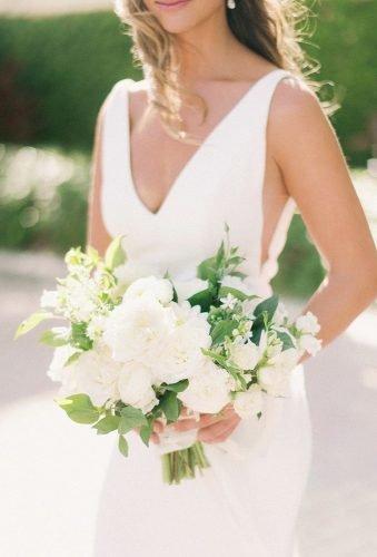wedding bouquets 2019 tender white bouquet kaleidoscopefloral