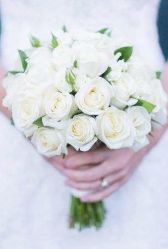 wedding bouquets 2019 white roses bouquet beaukayes florist