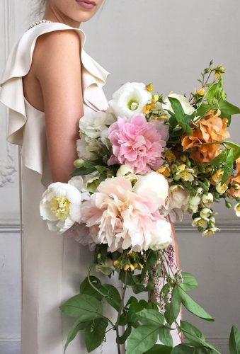 wedding bouquets 2019 cascade bouquet bowsandarrowsflowersn